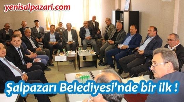Şalpazarı Belediye Meclisi Geyikli'de toplandı