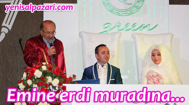 Emine Öztürk ile İsmail Akçay evlendi