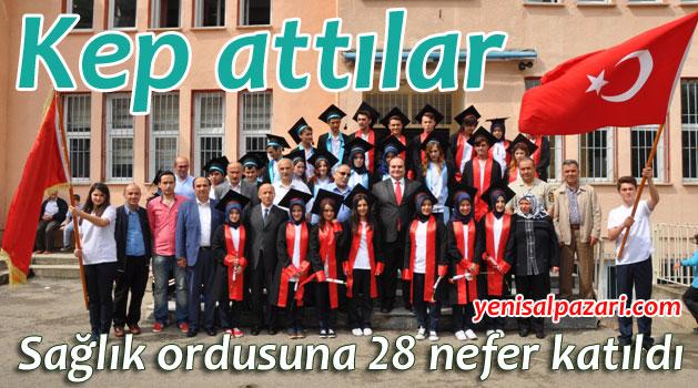 Şalpazarı A.Y. Mesleki ve Teknik Anadolu Lisesi 28 yeni mezun verdi