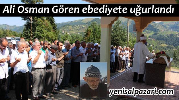 Köraluğu Ali Osman Gören Geyikli'de toprağa verildi