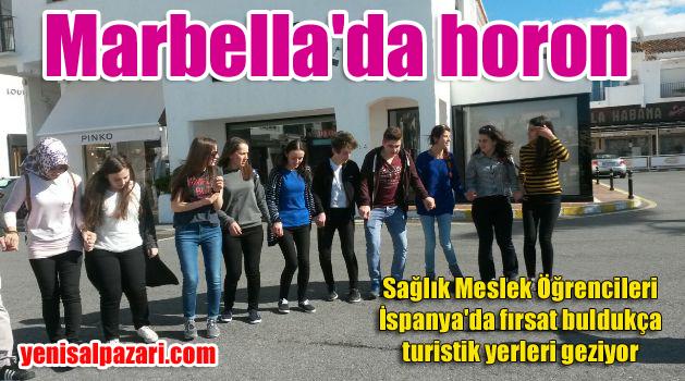 Sağlık Meslek Lisesi Öğrencileri Marbella'da güneşin tadını çıkarıyor