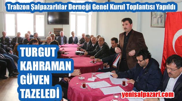 Trabzon Şalpazarılılar Derneği Kongresi yapıldı