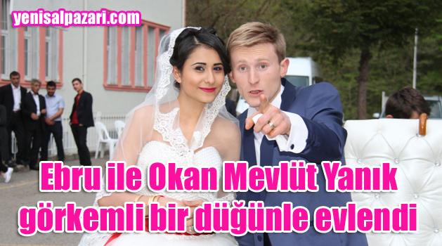 Ebru Özyildirim ile Okan Mevlüt Yanık evlendi