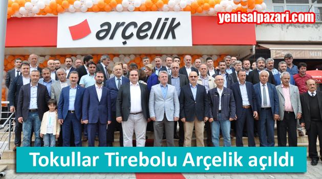 Tokullar Tirebolu'da Arçelik Mağazası açtı