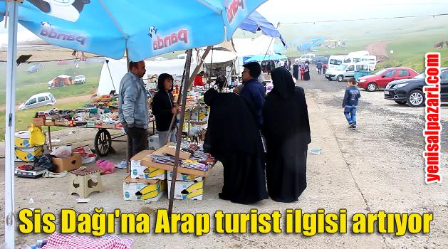 Araplar Sis Dağı'nı çok sevdi