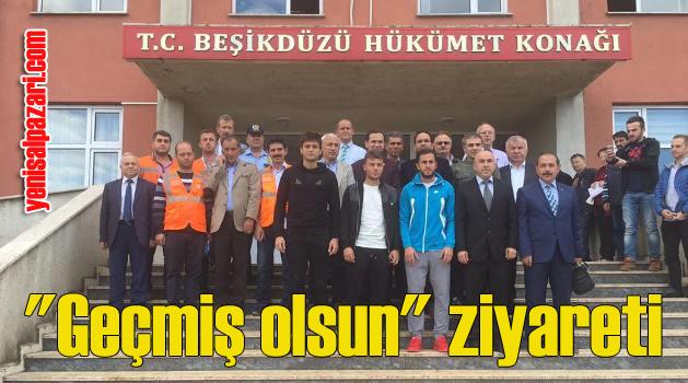 Milletvekili Cora, Trabzonspor kafilesiyle Beşikdüzü'nü ziyaret etti