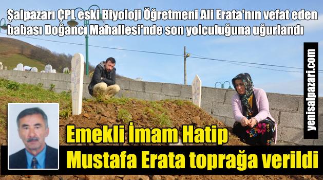 Doğancı'da Emekli İmam Hatip Mustafa Erata'ya son görev