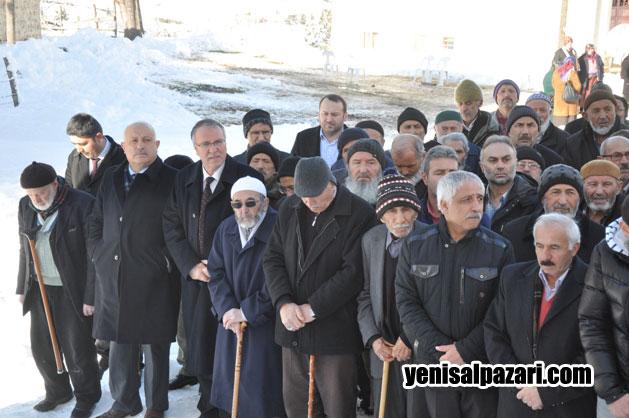 Cenazeye Sayıştay Üyesi Mustafa Atalar da katıldı
