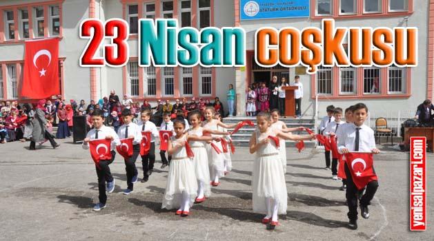 Şalpazarı'nda 23 Nisan Bayramı törenlerle kutlandı