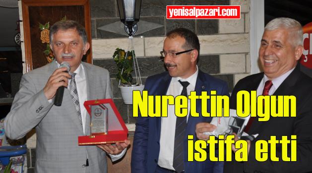 Nurettin Olgun Müdürlük görevinden istifa etti