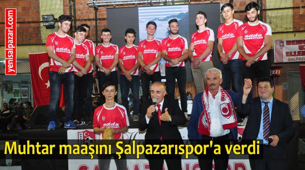 Şalpazarıspor'a destek yağdı