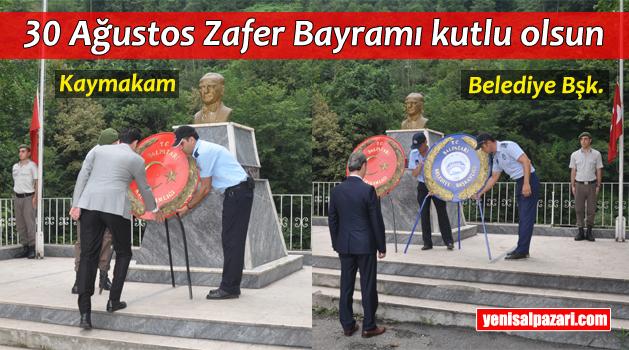 Şalpazarı'nda 30 Ağustos Zafer Bayramı törenle kutlandı
