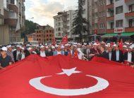 Şalpazarı'nda 15 Temmuz Demokrasi ve Milli Birlik Günü kutlandı