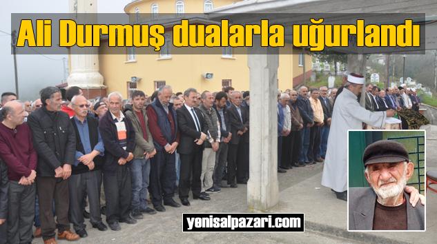 Aziz Durmuş'un vefat eden babası Dorukkiriş Mahallesi'nde toprağa verildi