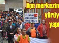 Şalpazarı'nda Amatör Spor Haftası Etkinlikleri yürüyüşle başladı