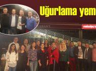 Şalpazarı AYMTAL Kadir Özdemir ve Kaya Türkoğlu'nu yemekle uğurladı