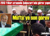 Vefat eden Şalpazarı eski Müftüsü Abdurrahman Küçük, Of'ta toprağa verildi
