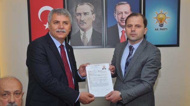 Ahmet Kıran AK Parti'den Şalpazarı Belediye Başkanı Aday Adayı oldu