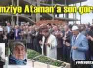 Remziye Ataman'ın cenazesi Karakaya Mahallesi'nde toprağa verildi