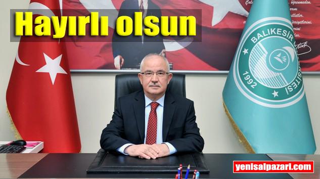 Prof. Dr. İbrahim Türkmen, Balıkesir Üniversitesi Rektör Yardımcılığı görevine atandı