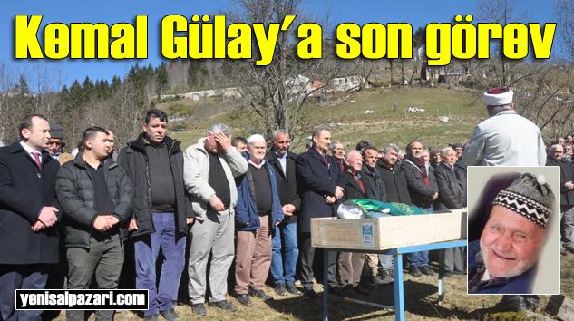 Danu Kemal Gülay'ın cenazesi Gökçeköy'de toprağa verildi