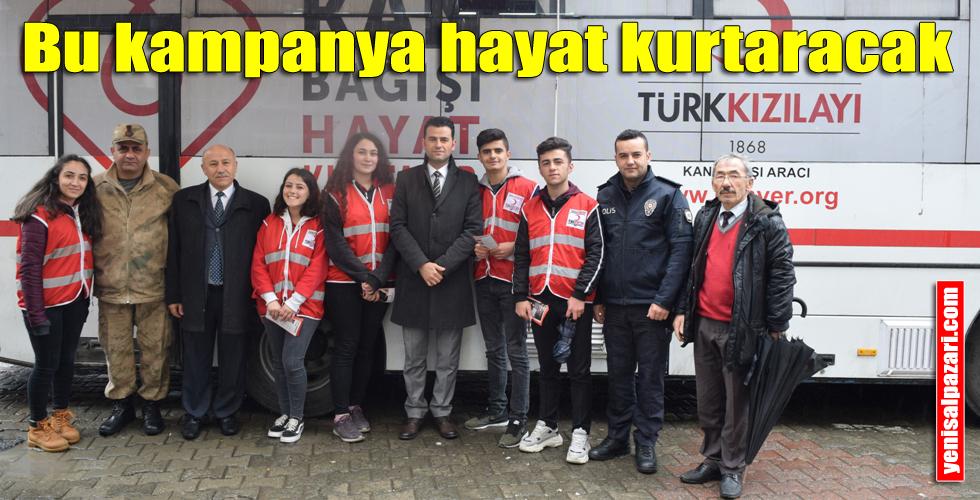 Kan ve ilik bağışı kampanyası