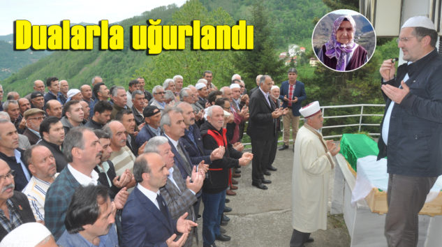 Döne Öztürk'ün cenazesi Fidanbaşı'nda toprağa verildi