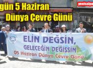 Şalpazarı'nda 5 Haziran Dünya Çevre günü nedeniyle bir etkinlik gerçekleştirildi