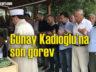 Emekli Öğretmen Günay Kadıoğlu'nun cenazesi Beşikdüzü'nde toprağa verildi