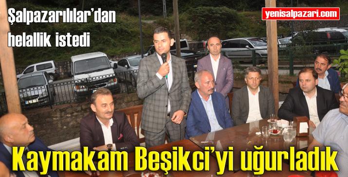 Kaymakam Murat Beşikci uğurlandı