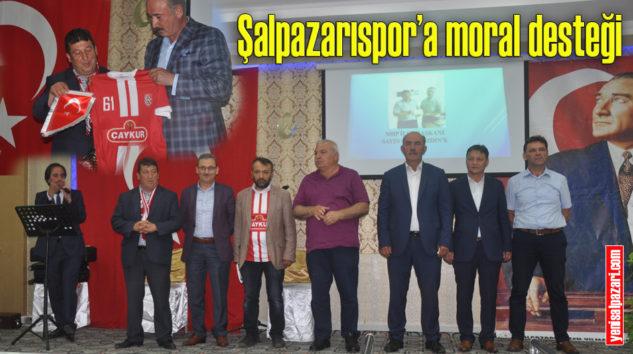 Şalpazarıspor Gecesi Cinkaya Salonunda yapıldı