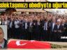 Gazeteci Muhammet Taş Beşikdüzü'nde ebediyete uğurlandı