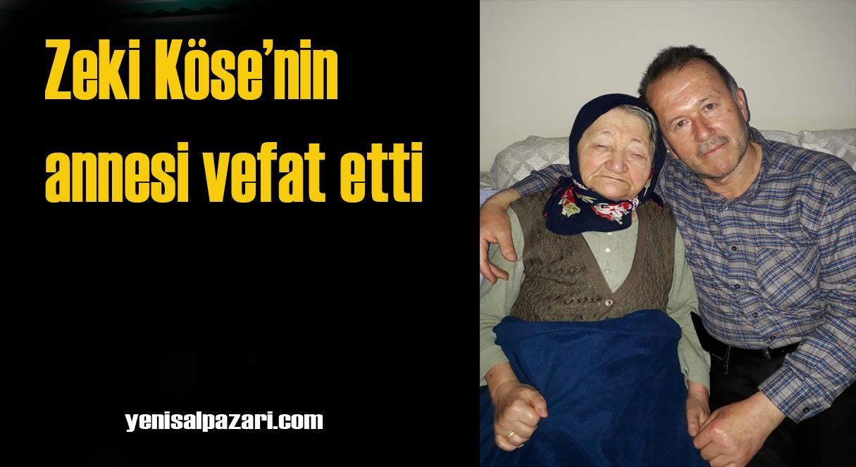 Nadiye Köse'nin cenazesi yarın Tepeağzı Mahallesi'nde toprağa verilecek