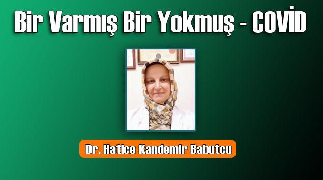 Dr. Hatice Kandemir Babutcu'nun yeni yazısı