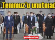 15 Temmuz Demokrasi ve Milli Birlik Günü Şalpazarı ve Beşikdüzü'nde kutlandı