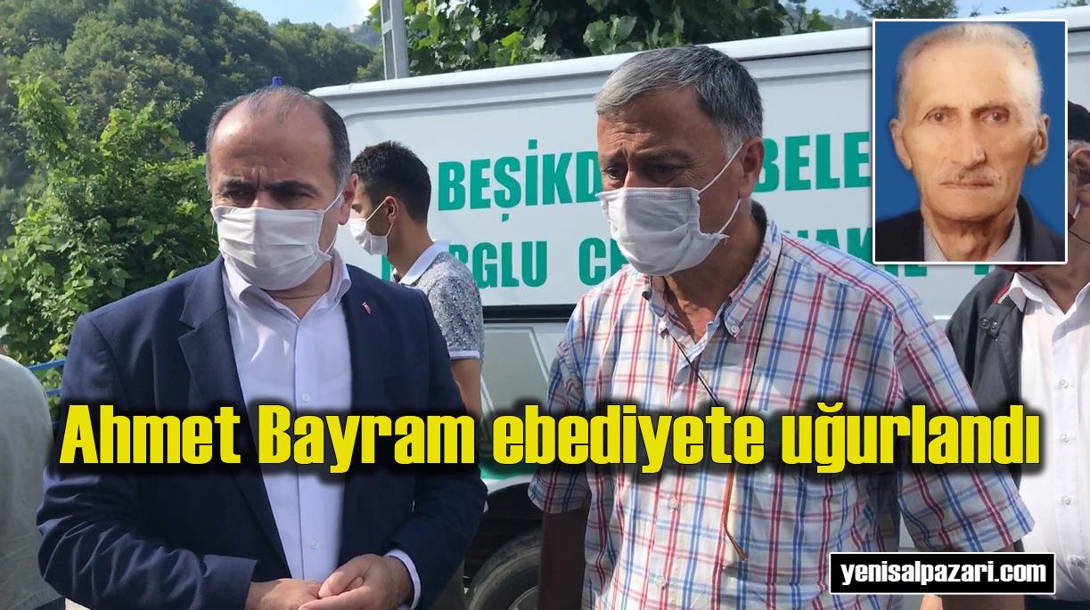 Ziraat Bankası Beşikdüzü Şubesi eski Müdürü Mehmet Bayram'ın vefat eden babası Üzümözü Mahallesi'nde toprağa verildi