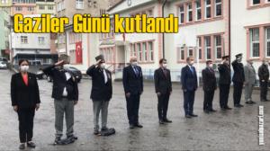 Şalpazarı'nda 19 Eylül Gaziler Günü nedeniyle anma programı düzenlendi
