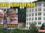 Şalpazarı Meslek Yüksekokulu'nun açılışı ertelendi
