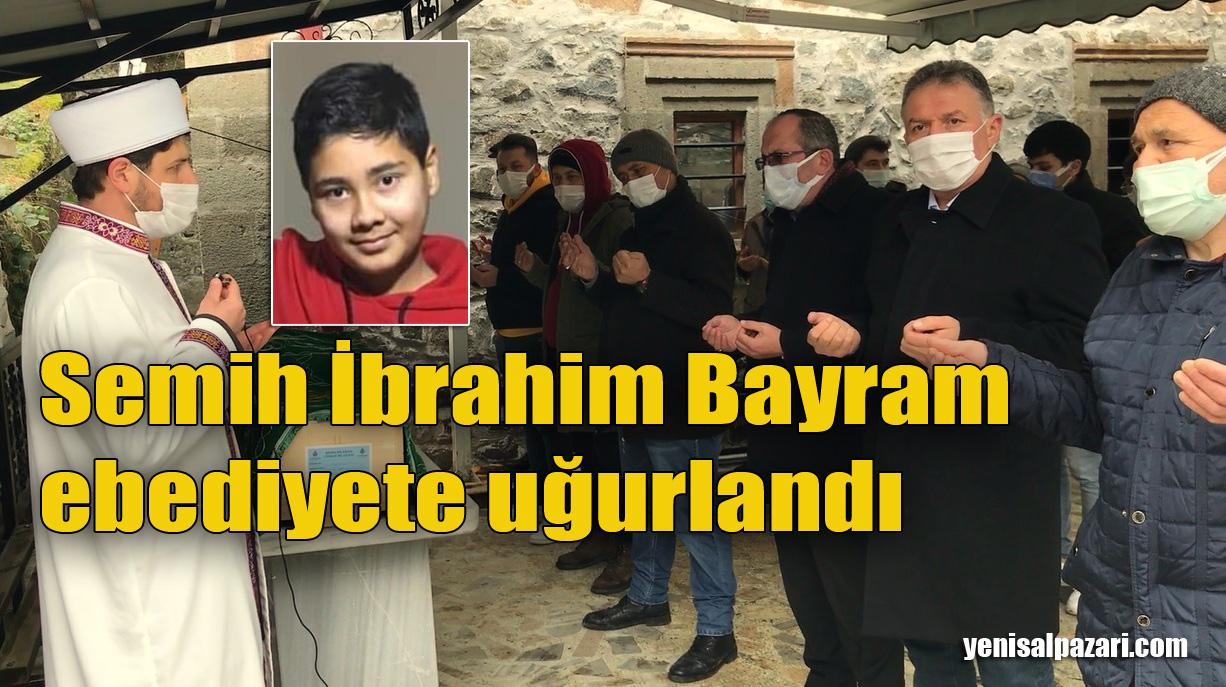 Semih İbrahim Bayram'ın cenazesi Dereköy Mahallesi'nde toprağa verildi
