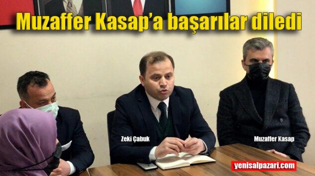 AK Parti Şalpazarı İlçe Yönetim Kurulu toplantısı yapıldı