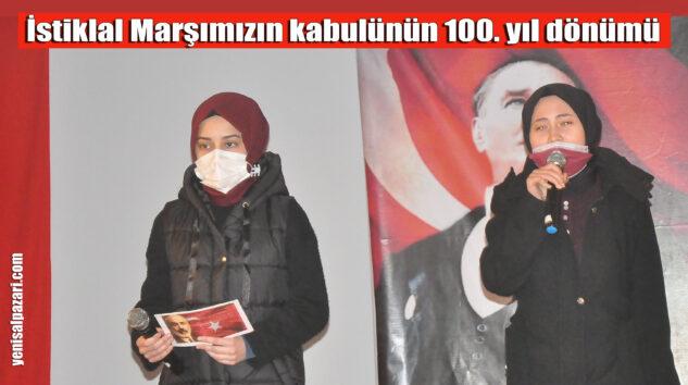 Vatan Şairi Mehmet Akif Ersoy törenle anıldı