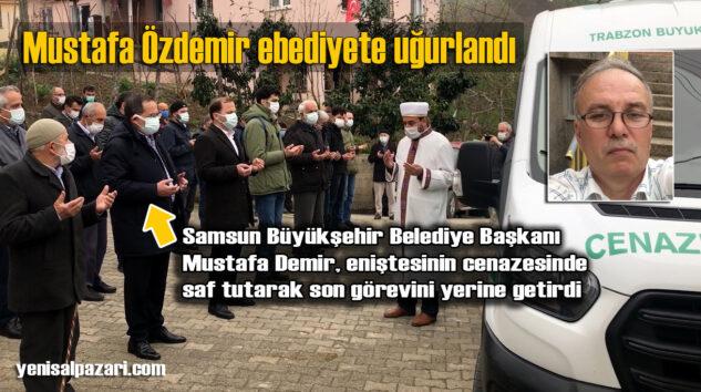 Koronavirüs nedeniyle hayatını kaybeden Mustafa Özdemir'in cenazesi Turalıuşağı Mahallesi'nde toprağa verildi