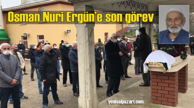 Osman Nuri Ergün Dorukkiriş Mahallesi'nde dualarla ebediyete uğurlandı