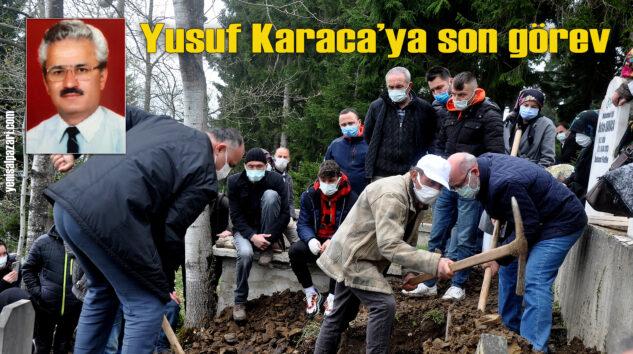 Emekli Öğretmen Yusuf Karaca, Kasımağzı Mahallesi'nde ebediyete uğurlandı